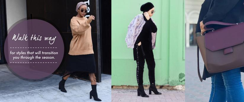 Fashion Influencers wore comfort and glamour with SHOEMART this Winter!
